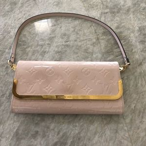 Louis Vuitton Patent Leather Clutch